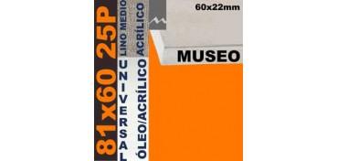 BASTIDOR MUSEO 60 X 22 LINO Nº3 (GRANO MEDIO) 81 X 60 25P (ÓLEO/ACRÍLICO)