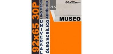 BASTIDOR MUSEO 60 X 22 LINO Nº3 (GRANO MEDIO) 92 X 65 30P (ÓLEO/ACRÍLICO)