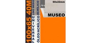 BASTIDOR MUSEO 60 X 22 LINO Nº3 (GRANO MEDIO) 100 X 65 40M (ÓLEO/ACRÍLICO)