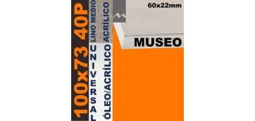 BASTIDOR MUSEO 60 X 22 LINO Nº3 (GRANO MEDIO) 100 X 73 40P (ÓLEO/ACRÍLICO)