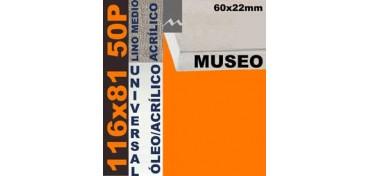 BASTIDOR MUSEO 60 X 22 LINO Nº3 (GRANO MEDIO) 116 X 81 50P (ÓLEO/ACRÍLICO)