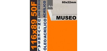 BASTIDOR MUSEO 60 X 22 LINO Nº3 (GRANO MEDIO) 116 X 89 50F (ÓLEO/ACRÍLICO)