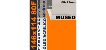 BASTIDOR MUSEO 60 X 22 LINO Nº3 (GRANO MEDIO) 146 X 114 80F (ÓLEO/ACRÍLICO)