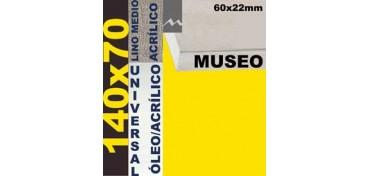 BASTIDOR MUSEO 60 X 22 LINO Nº3 (GRANO MEDIO) 140 X 70 (ÓLEO/ACRÍLICO)