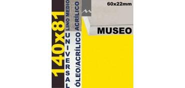 BASTIDOR MUSEO 60 X 22 LINO Nº3 (GRANO MEDIO) 140 X 81 (ÓLEO/ACRÍLICO)
