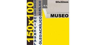 BASTIDOR MUSEO 60 X 22 LINO Nº3 (GRANO MEDIO) 150 X 100 (ÓLEO/ACRÍLICO)