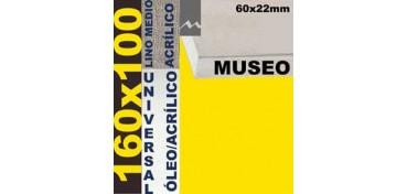 BASTIDOR MUSEO 60 X 22 LINO Nº3 (GRANO MEDIO) 160 X 100 (ÓLEO/ACRÍLICO)