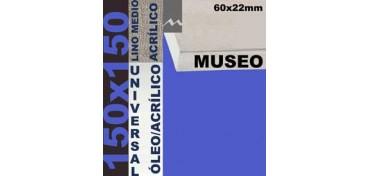 BASTIDOR MUSEO 60 X 22 LINO Nº3 (GRANO MEDIO) 150 X 150 (ÓLEO/ACRÍLICO)