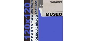 BASTIDOR MUSEO 60 X 22 LINO Nº3 (GRANO MEDIO) 120 X 120 (ÓLEO/ACRÍLICO)