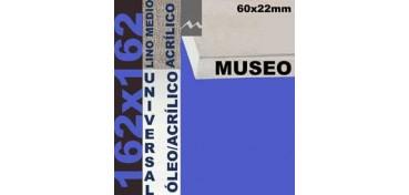 BASTIDOR MUSEO 60 X 22 LINO Nº3 (GRANO MEDIO) 162 X 162 (ÓLEO/ACRÍLICO)