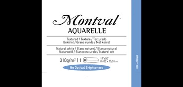 ROLLO CANSON INFINITY MONTVAL AQUARELL 310G