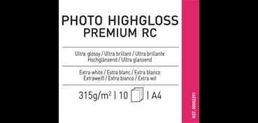 CANSON INFINITY PHOTO HIGHGLOSS PREMIUM RC 315G