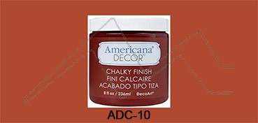 AMERICANA DECOR CHALKY FINISH ROJO CAMEO ADC-10