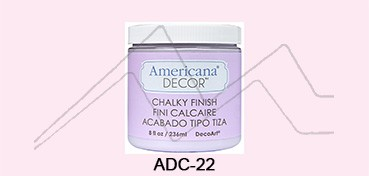 AMERICANA DECOR CHALKY FINISH ROSA PROMESA ADC-22