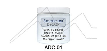 AMERICANA DECOR CHALKY FINISH BLANCO SIEMPRE ADC-01
