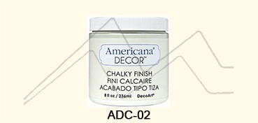 AMERICANA DECOR CHALKY FINISH CRUDO ENCAJE ADC-02