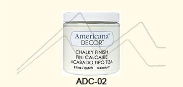 AMERICANA DECOR CHALKY FINISH CRUDO ENCAJE ADC-02