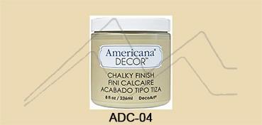 AMERICANA DECOR CHALKY FINISH BEIGE ETERNO ADC-04