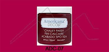 AMERICANA DECOR CHALKY FINISH ROJO ROUGE ADC-07