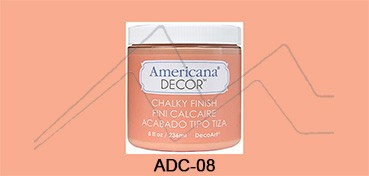 AMERICANA DECOR CHALKY FINISH SALMON FOGOSO ADC-08