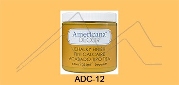 AMERICANA DECOR CHALKY FINISH NARANJA HERENCIA ADC-12