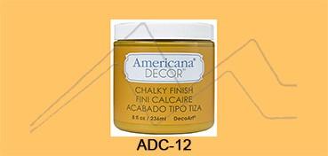 AMERICANA DECOR CHALKY FINISH NARANJA HERENCIA ADC-12