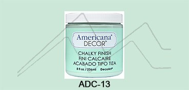 AMERICANA DECOR CHALKY FINISH VERDE REFRESCO ADC-13