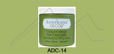 AMERICANA DECOR CHALKY FINISH VERDE NEW LIFE ADC-14