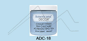AMERICANA DECOR CHALKY FINISH AZUL SERENO ADC-18