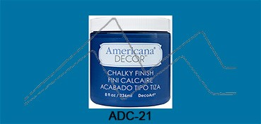 AMERICANA DECOR CHALKY FINISH AZUL LEGADO ADC-21