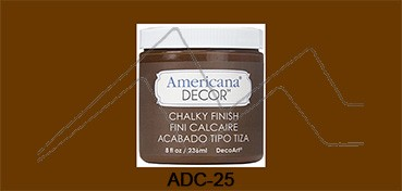 AMERICANA DECOR CHALKY FINISH MARRÓN RUSTICO ADC-25