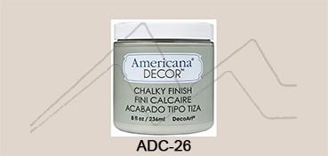 AMERICANA DECOR CHALKY FINISH GRIS PRIMITIVO ADC-26
