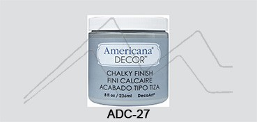 AMERICANA DECOR CHALKY FINISH GRIS ANTAÑO ADC-27