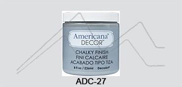 AMERICANA DECOR CHALKY FINISH GRIS ANTAÑO ADC-27