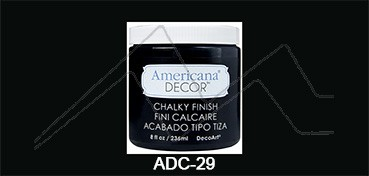 AMERICANA DECOR CHALKY FINISH CARBÓN ADC-29