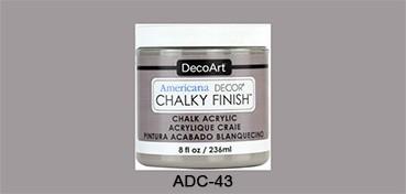 AMERICANA DECOR CHALKY FINISH GRIS ARTEFACTO ADC-43