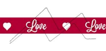 ARTEMIO CINTA ADHESIVA - MASKING TAPE - LOVE LOVE
