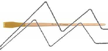 PRINCETON CATALYST PINCEL HOJA DE SILICONA FORMA 4 AMARILLO 15 MM (15X30MM)