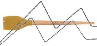 PRINCETON CATALYST PINCEL HOJA DE SILICONA FORMA 4 AMARILLO 50 MM (50X57MM)