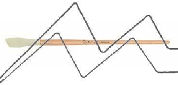 PRINCETON CATALYST PINCEL HOJA DE SILICONA FORMA 6 BLANCO 15 MM (15X30MM)