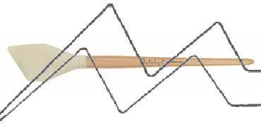 PRINCETON CATALYST PINCEL HOJA DE SILICONA FORMA 6 BLANCO 50 MM (50X57MM)