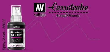 VALLEJO CARROTCAKE PINTURA EN SPRAY PARA SCRAPBOOKING SPICY VIOLET Nº 022