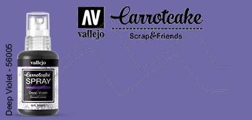 VALLEJO CARROTCAKE PINTURA EN SPRAY PARA SCRAPBOOKING DEEP VIOLET Nº 005