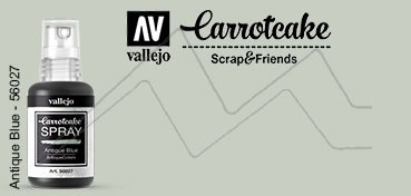 VALLEJO CARROTCAKE PINTURA EN SPRAY PARA SCRAPBOOKING ANTIQUE BLUE Nº 027