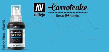 VALLEJO CARROTCAKE PINTURA EN SPRAY PARA SCRAPBOOKING SAILOR BLUE Nº 015