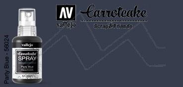VALLEJO CARROTCAKE PINTURA EN SPRAY PARA SCRAPBOOKING PARTY BLUE Nº 024