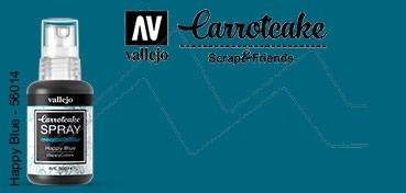 VALLEJO CARROTCAKE PINTURA EN SPRAY PARA SCRAPBOOKING HAPPY BLUE Nº 014