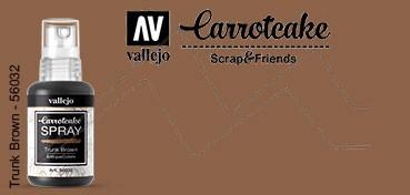 VALLEJO CARROTCAKE PINTURA EN SPRAY PARA SCRAPBOOKING TRUNK BROWN Nº 032