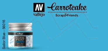 VALLEJO CARROTCAKE PINTURA PARA SCRAPBOOKING SAILOR BLUE Nº 415