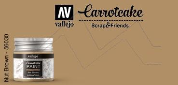 VALLEJO CARROTCAKE PINTURA PARA SCRAPBOOKING NUT BROWN Nº 430